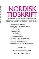 Nordisk Tidskrift för vetenskap, konst och industri logga