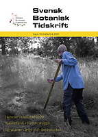 Svensk Botanisk Tidskrift logga