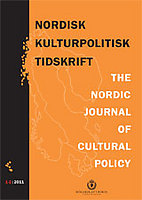 Nordisk Kulturpolitisk Tidskrift logga